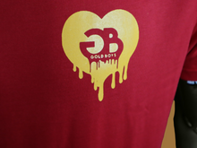 Load image into Gallery viewer, Red Heart of Gold T-shirt