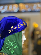 "Load image into Gallery viewer, ""Live Gold"" Durag"