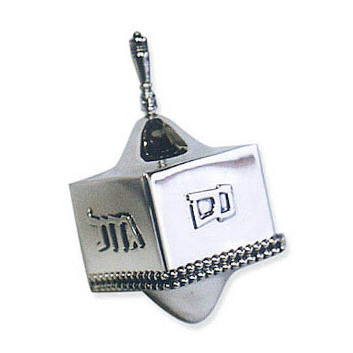 Sterling Silver Dreidel Handcrafted by Bier Judaica - Matana Boutique