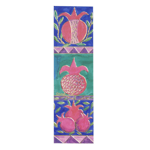 Paper Bookmarks Pomegranates by Yair Emanuel