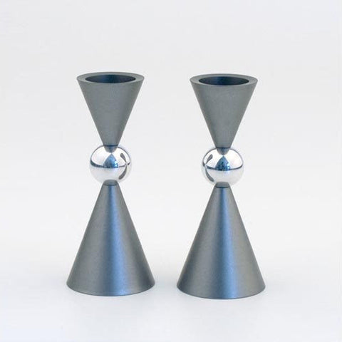 Aluminum Mini Ball Candle Holders by Agayof