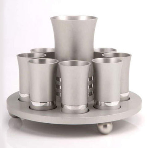 Kiddush Cup Set by Agayof