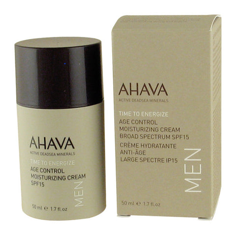 Age Control Moisturizing Cream SPF15 for Men by Ahava