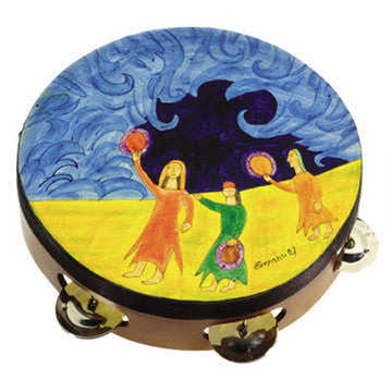 Tambourine, Miriam and the Drum by Yair Emanuel - Matana Boutique