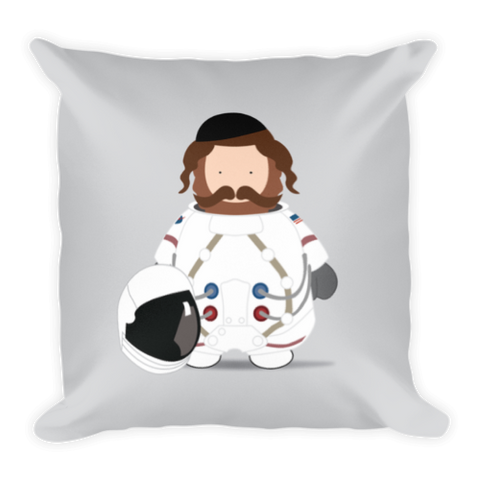 Astronaut Rebbe Pillow by Yiddy Lebovits