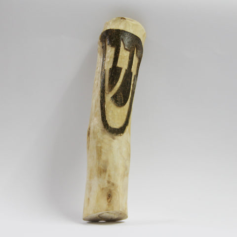Hand Carved Wooden Mezuzah by Elchanan Ehrlanger