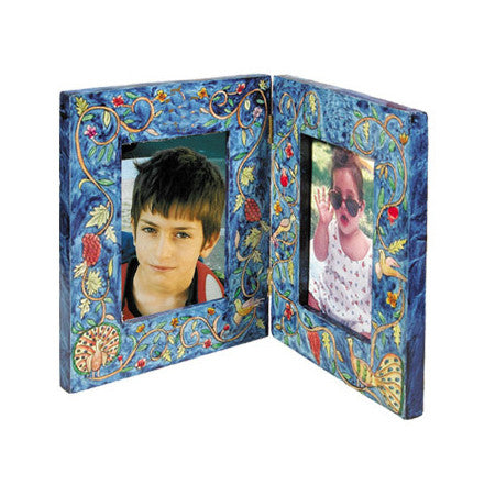 Double Picture Frame, Oriental by Yair Emanuel