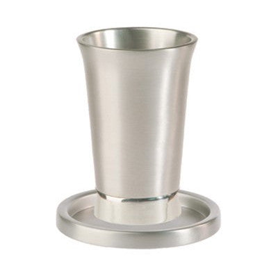 Anodized Aluminum Kiddush Cup by Yair Emanuel