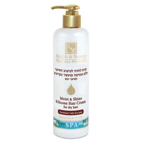 Hair Styling No-Rinse Silicone Moisture Cream by Health & Beauty