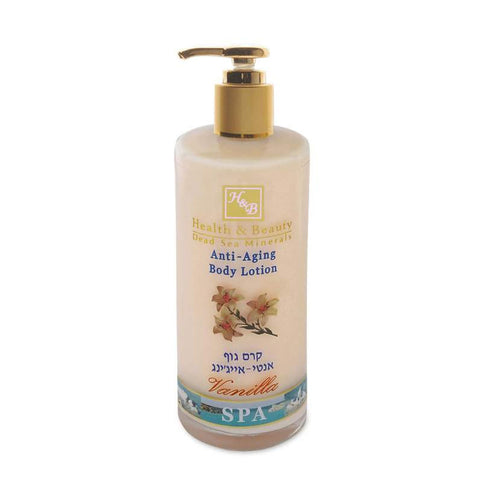 Anti-Aging Body Lotion Vanilla by Health & Beauty