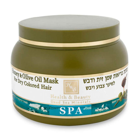 Olive Oil and Honey Mask for Colored or Dry Hair by Health & Beauty