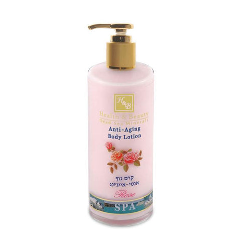 Anti-Aging Body Lotion Rose by Health & Beauty