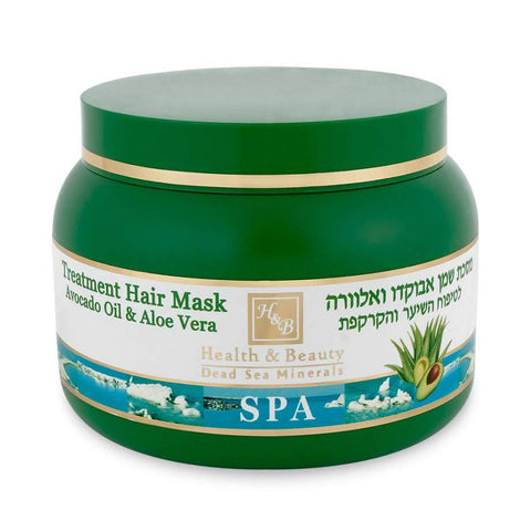 Avocado Oil and Aloe Vera Mask for Hair and Scalp Care by Health & Beauty