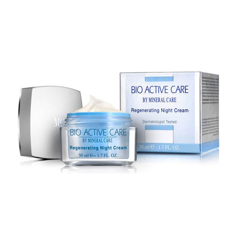 Bio Active Regenerating Night Cream by Mineral Care