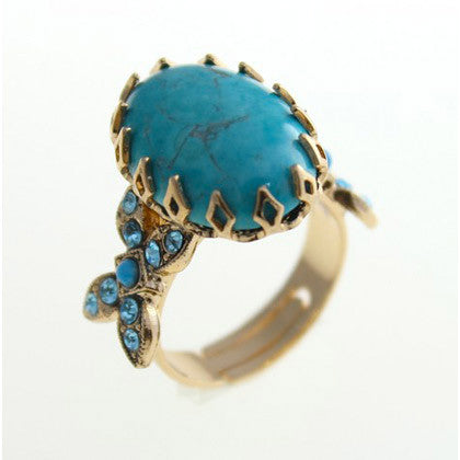 Gold Plated Ring by Amaro
