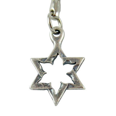 Star of David Keychain made from Kassam Rockets by Yaron Bob