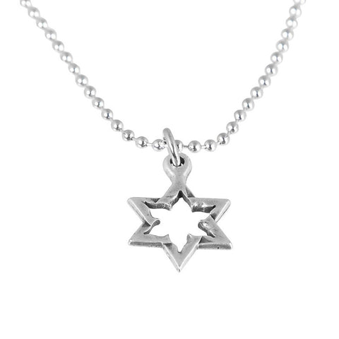 Star of David Pendant made from Kassam Rockets by Yaron Bob
