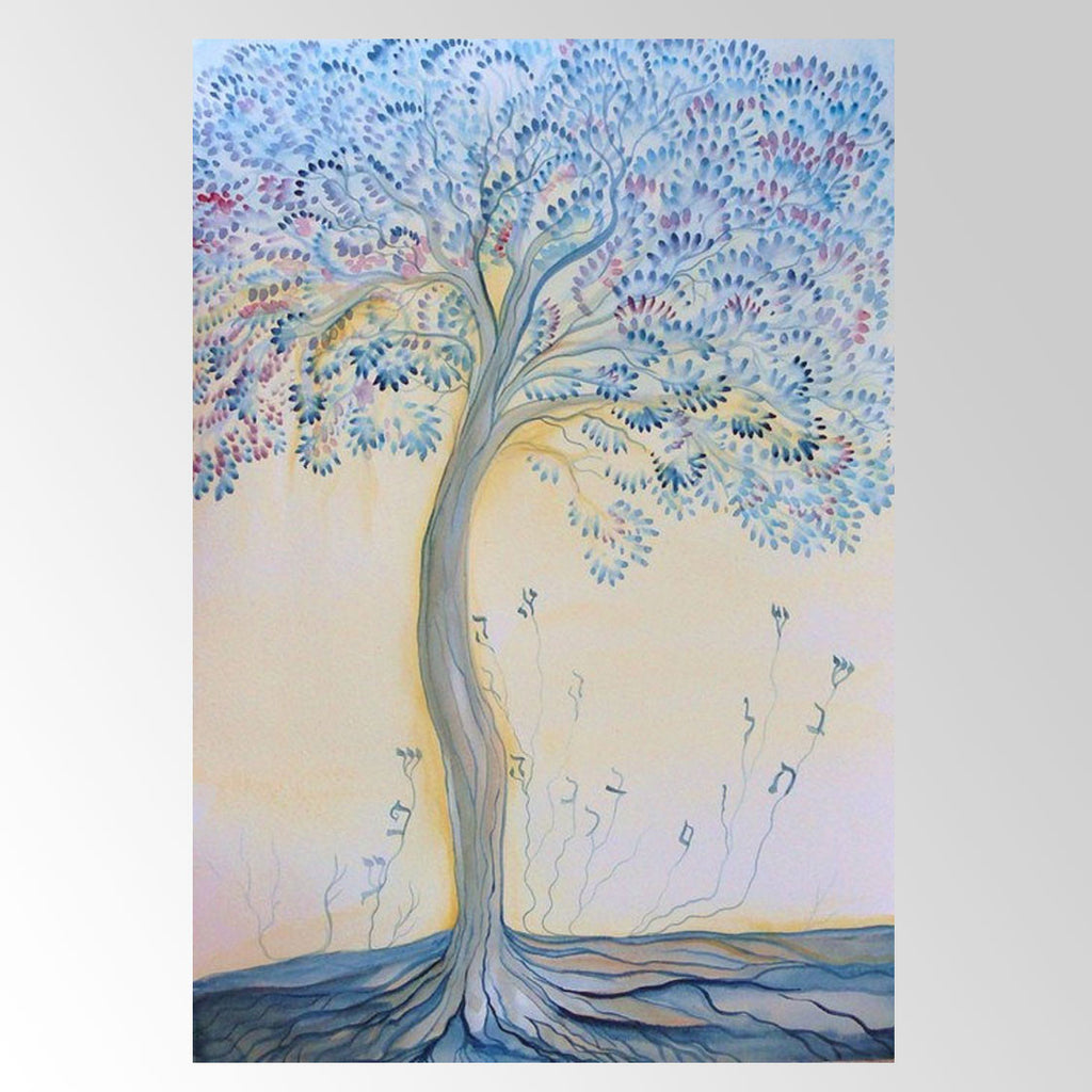 Tree of Life, Giclee Print by Sandrine Kespi - Matana Boutique