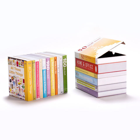 Boox Store - Storage Boxes Disguised as Books by Shahar Peleg