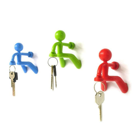 Magnetic Man Key Holder by Shahar Peleg