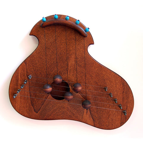 Amoeba Rosewood Door Harp by Woodsong