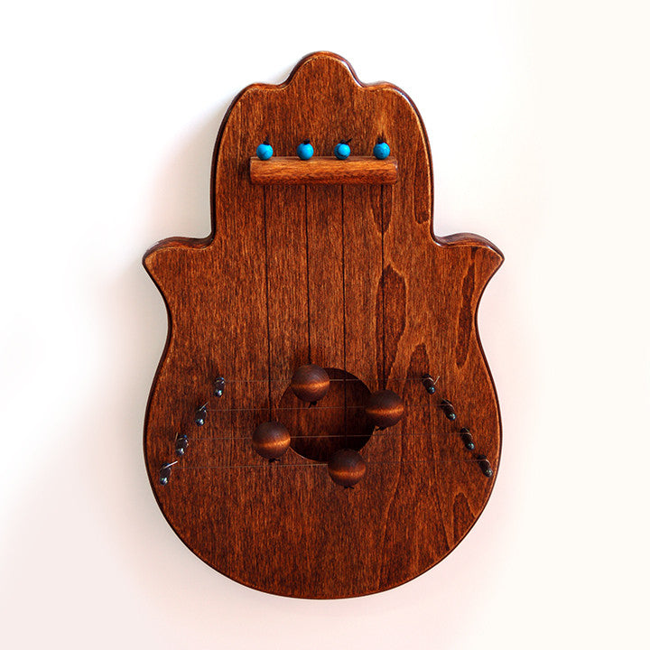 Hamsa, Chestnut Door Harp by Woodsong - Matana Boutique