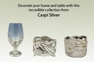 Decorate your home and table with this  incredible collection from  Caspi Silver