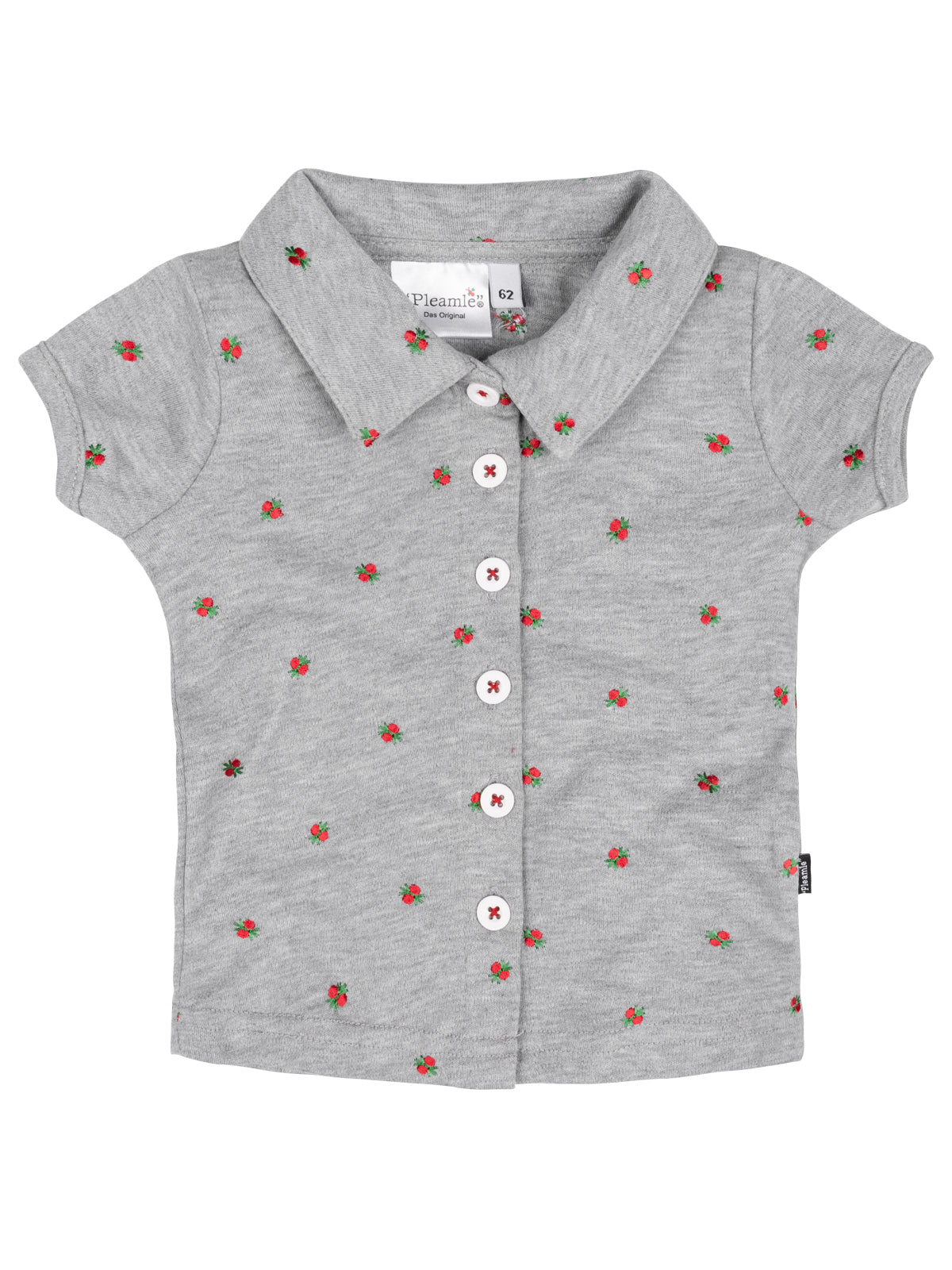 Pleamle Baby Polo Graumelé