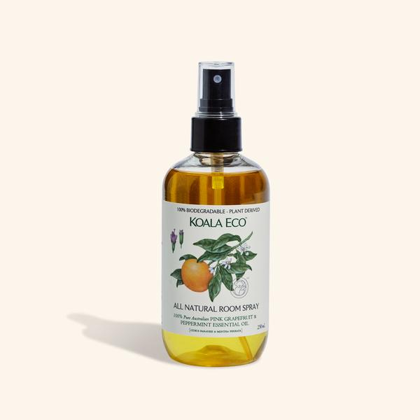 Pure paradise! Bring the 'real' Australia into your home with our Pink Grapefruit and Peppermint all natural room spray