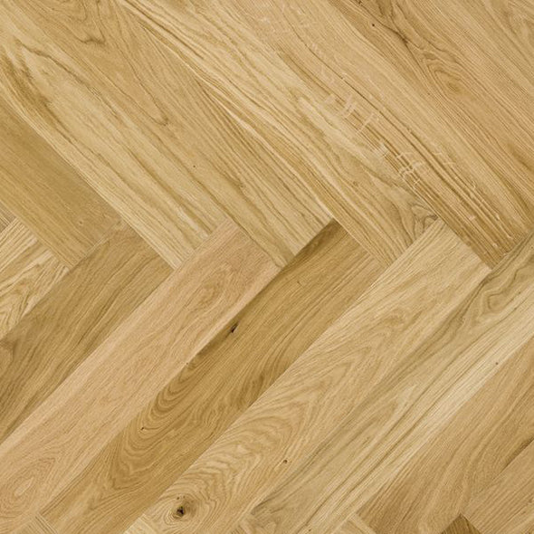 Crema Herringbone Engineered 130x14x725mm