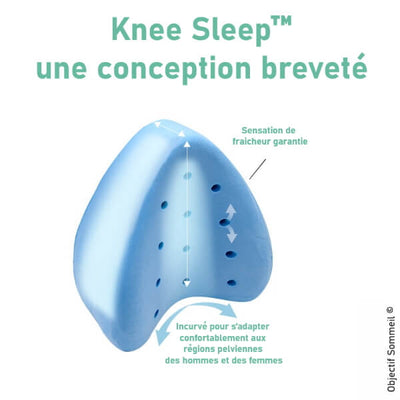 Knee Sleep™ - Conception brevetée
