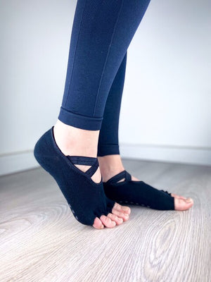 PILATES ČARAPE BLACK