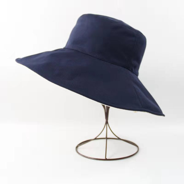 Reversible Wide Brim Sun Hat