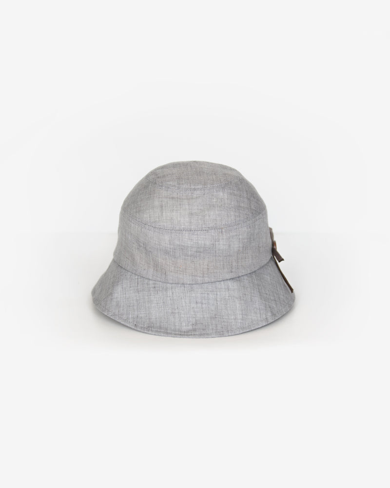 Bow Detail Bucket Hat