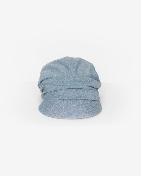 Ruffled Band Cadet Cap