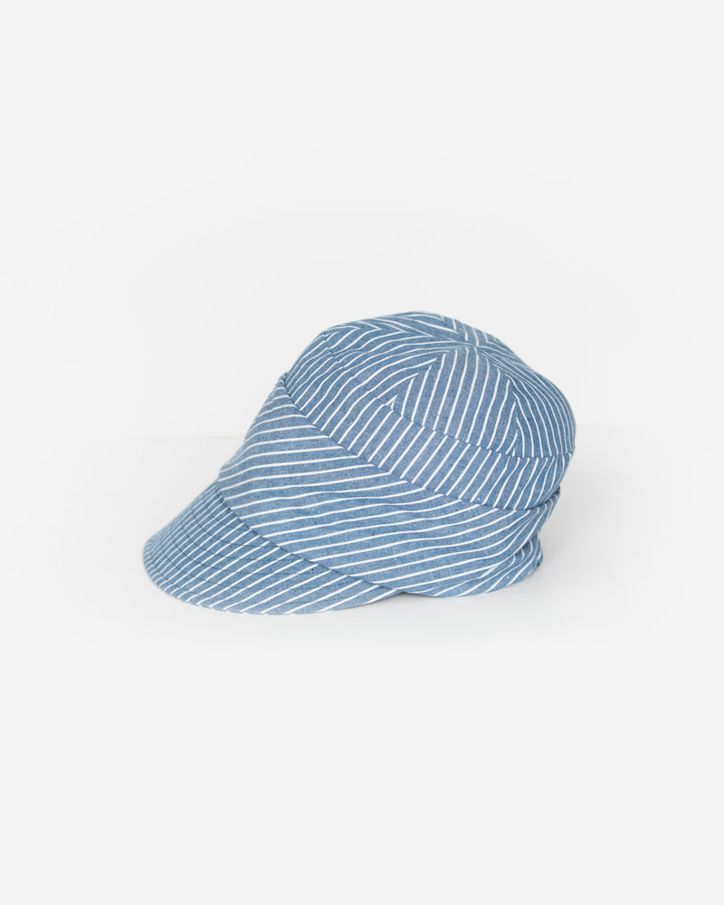 Striped Cadet Cap