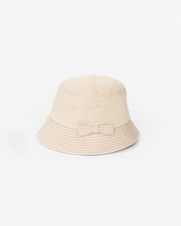 Mini Bow Bucket Hat
