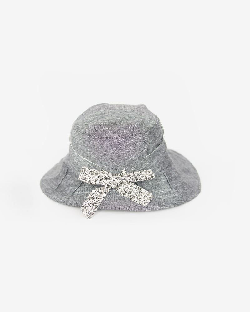 Floral Bow Cloche