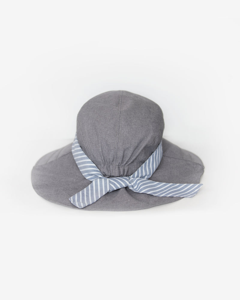 Neck Cover Striped Band Hat