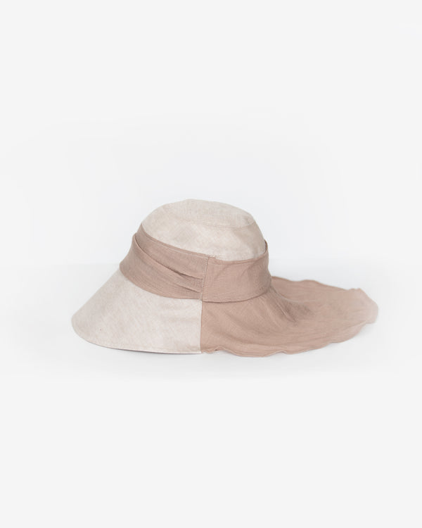 Neck Cover Silky Versatile Hat