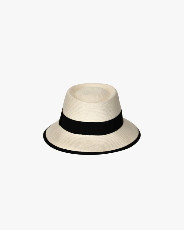 Japanese Straw Bucket Hat