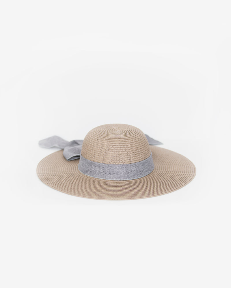 Garden Party Wide Brim Straw Sun Hat