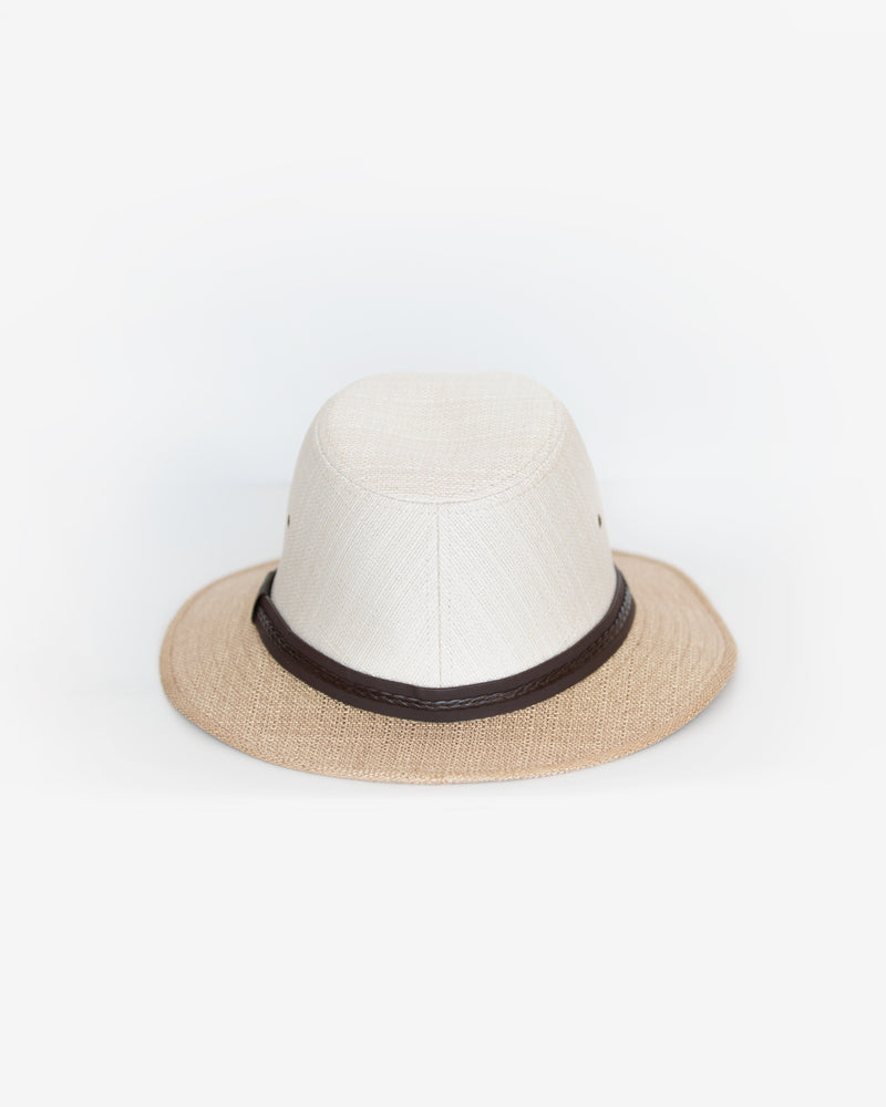 Two-Toned Safari Hat