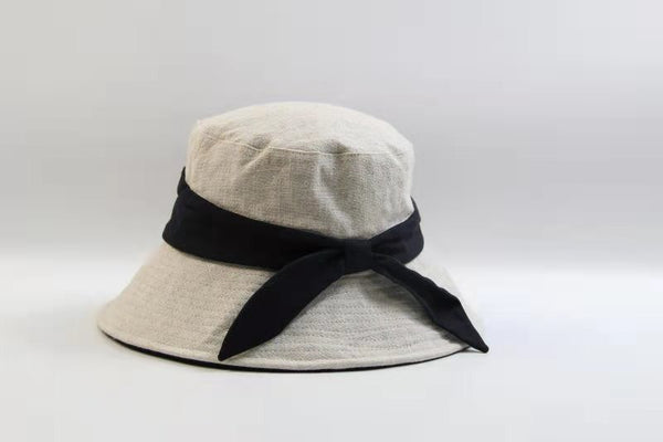 Wide Brim Sunhat with Back Bow