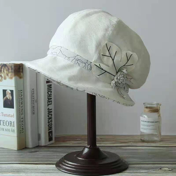 8 Panels Leaf Newsboy Cap