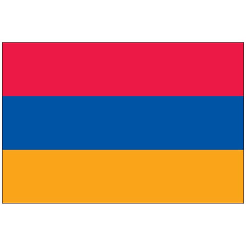 Armenia Flag Outdoor - Nylon Sewn Made in USA