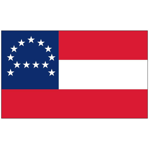 Image of General Lee Headquarters Flag - Nylon Dyed Made In Usa