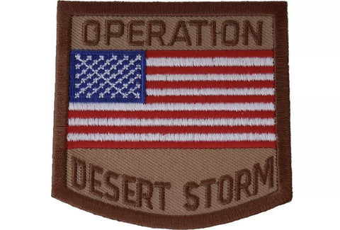 Operation Desert Storm Iron on Patch