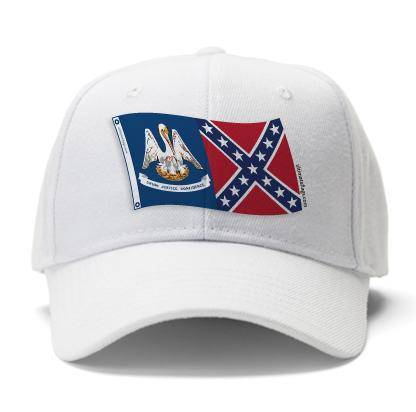 Louisiana Rebel Caps