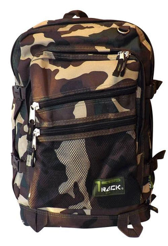 Green Camouflage Back to School Outdoors Hiking Backpack